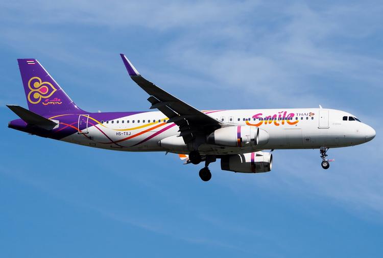 самолет Thai Smile